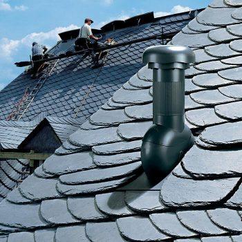 Klöber Rovia na strehi pokriti s skriljem