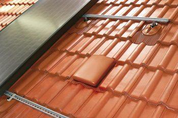 Klöber: ALU konstrukcija pritrjena na solarni nosilec