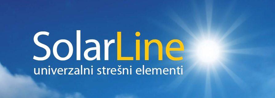 SolarLine, za poševne strehe