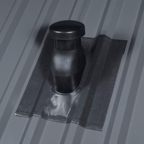 Univerzalni zračnik za kovinske strehe