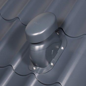 Kovinski strehi prilagojen odduh