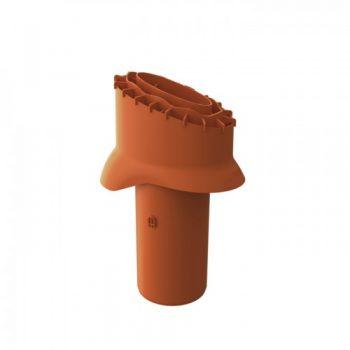 Strešni zaključek za kanalizacijske naprave