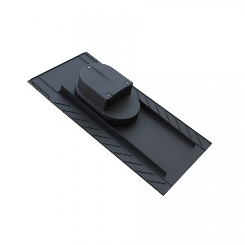 Univerzalni strešni preboj za škrilj, bobrovec in bitumensko skodlo.