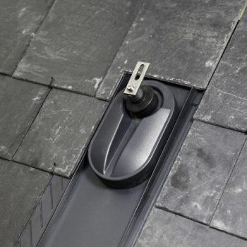 Klöber Venduct®  Uniplus solarni nosilec z univerzalnim strešnikom