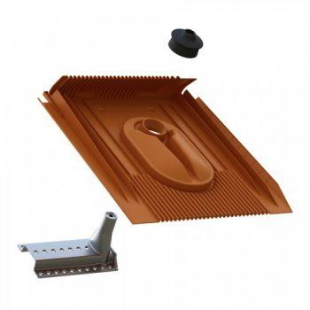 Uniplus solarni nosilec in univerzalni strešni element za glinene in betonske kritine