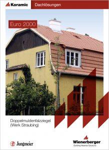 Euro 2000 prospekt nemški